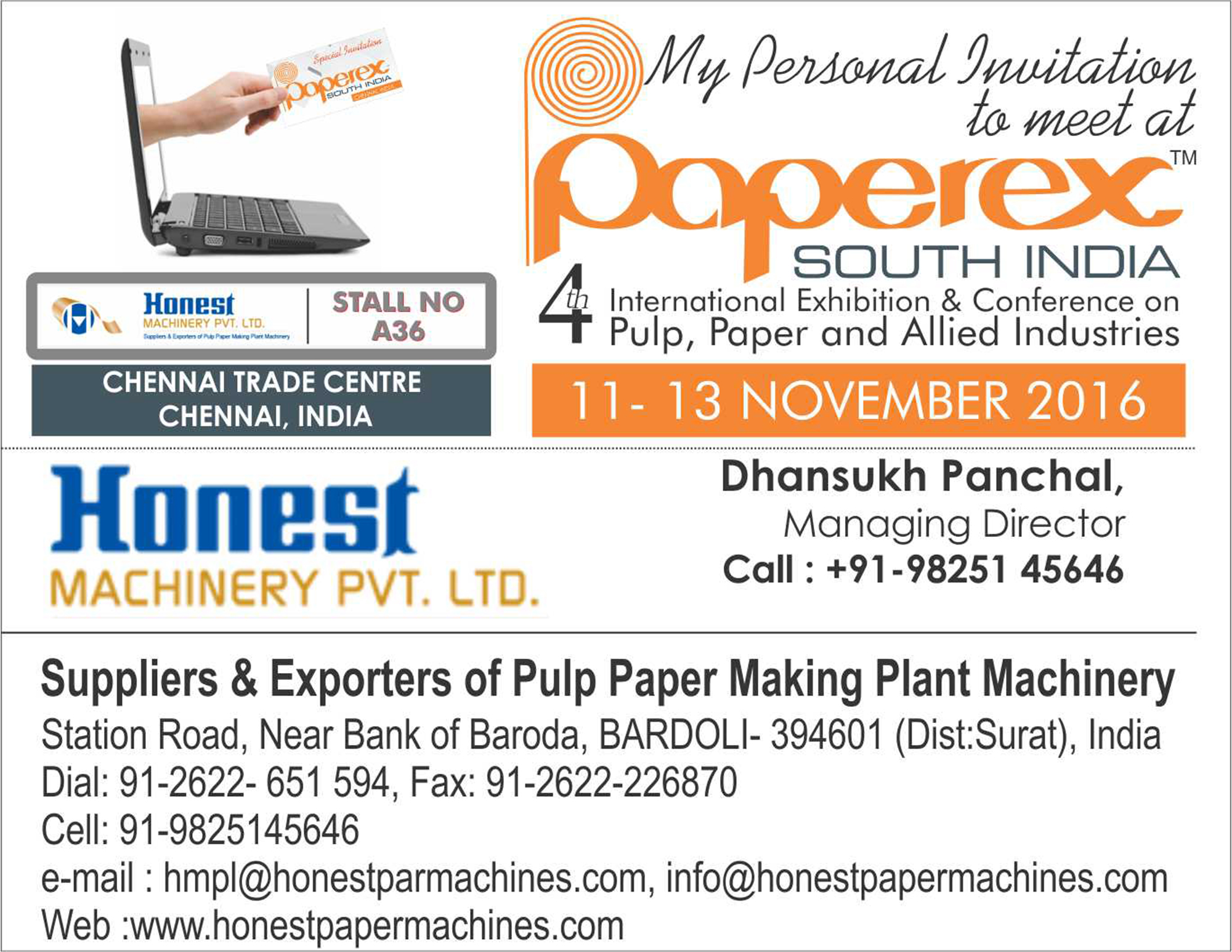 Paperex Exhibition in Chennai
